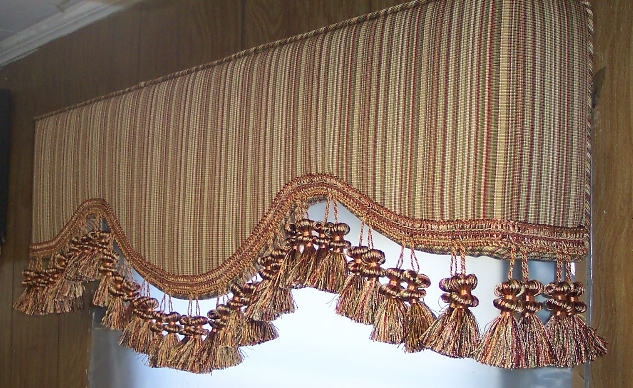 Plainfield upholstered cornice boards