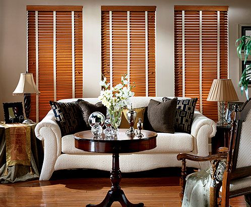Plainfield Wood Blinds