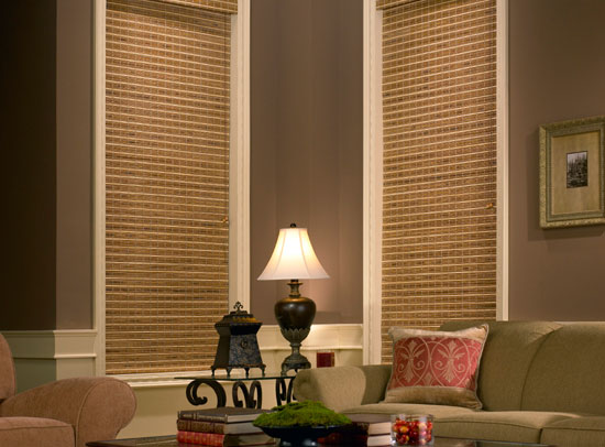 Plainfield Woven Wood Shades
